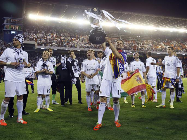 REAL MADRID CAMPEON COPA DEL REY 2014