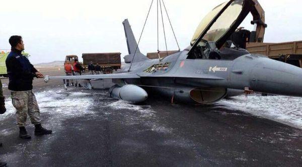 F-16 CHILENO ACCIDENTADO