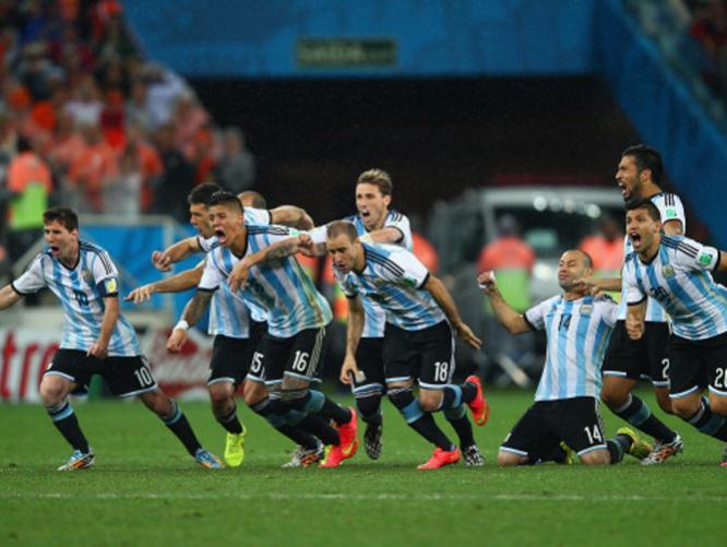 ARGENTINA ELIMINA A HOLANDA