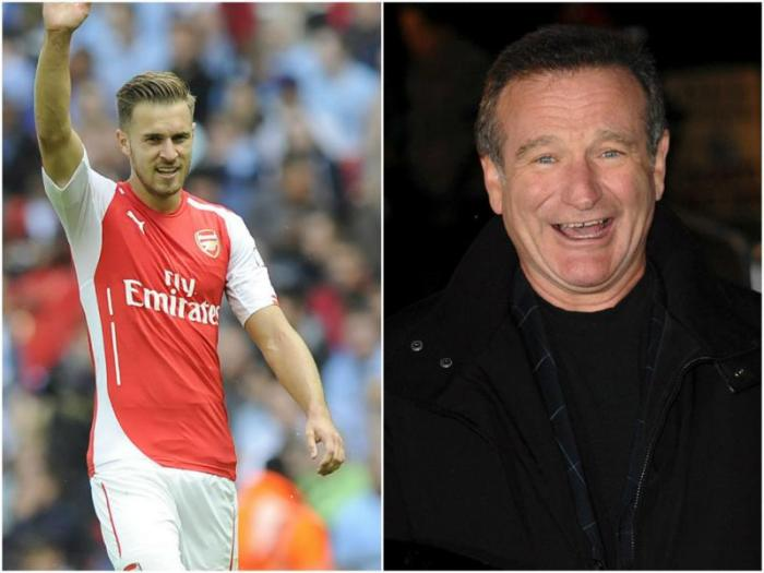 AARON RAMSEY ROBIN WILLIAMS