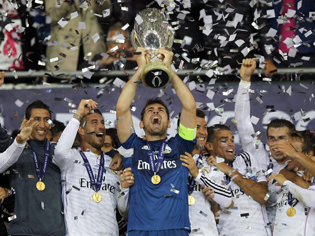 REAL MADRID CAMPEON SUPERCOPA DE ESPAÑA