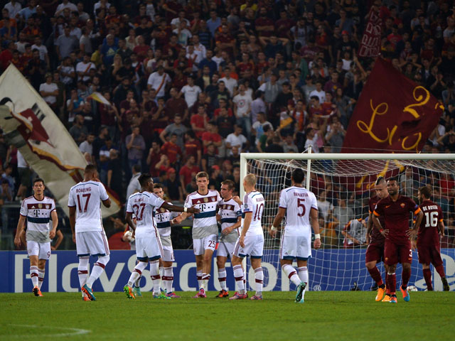 AS ROMA 1 BAYERN MUNICH 7