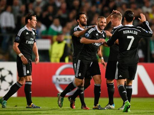LUDOGORETS REAL MADRID