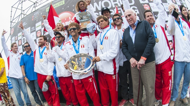 PERU CAMPEON MUNDIAL SURF