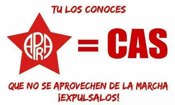 APRA Y EL REGIMEN CAS