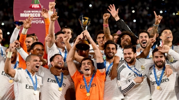 REAL MADRID CAMPEON MUNDIAL DE CLUBES 2014