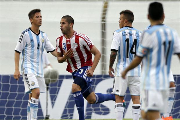 ARGENTINA 0 - PARAGUAY 1 SUB-20