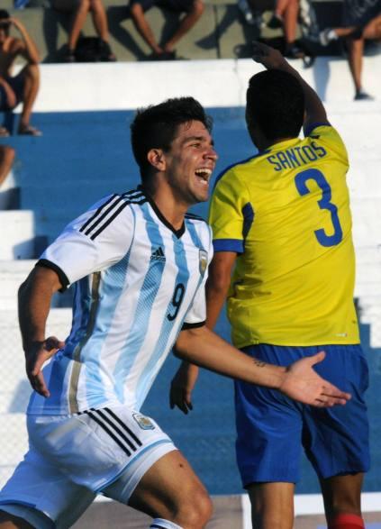 argentina 5 ecuador 2 sub20