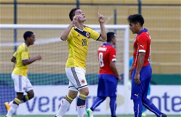 COLOMBIA 3 CHILE 0 SUB20 2015