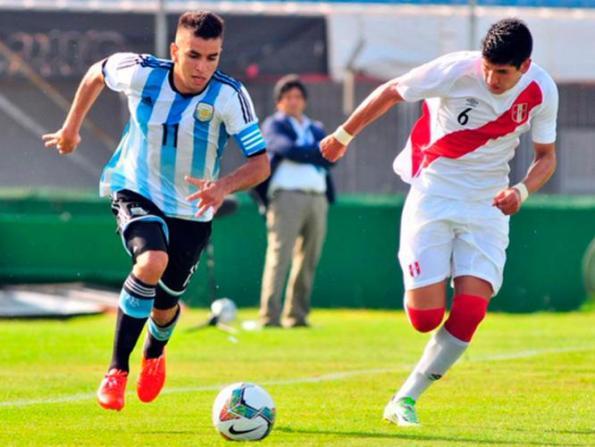 PERU 0 - ARGENTINA 2 SUB20