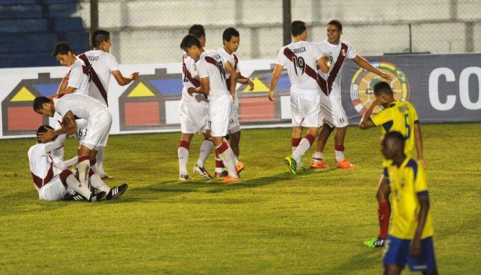 PERU 2 - ECUADOR 0 SUB-20 2015