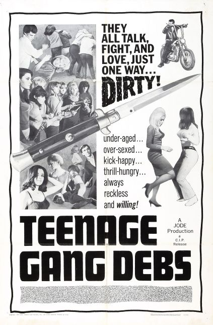 TEENAGE GANG POSTER