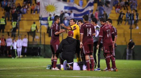 URUGUAY 0 - VENEZUELA 1