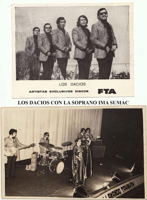 LOS DACIOS con YMA SUMAC