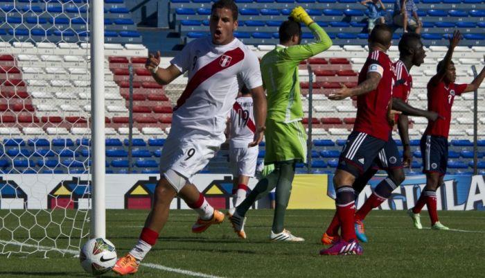 PERU 1 - COLOMBIA 3