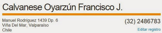 Calvanese Francisco espionaje