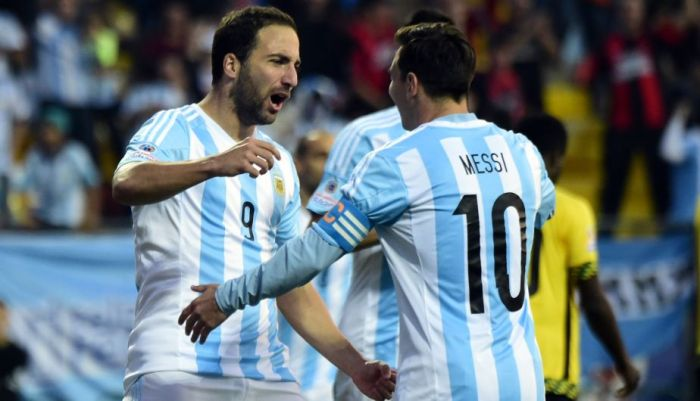 ARGENTINA 1 JAMAICA 0