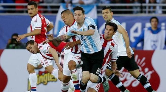 ARGENTINA 2 - PARAGUAY 0 COPA AMERICA 2015