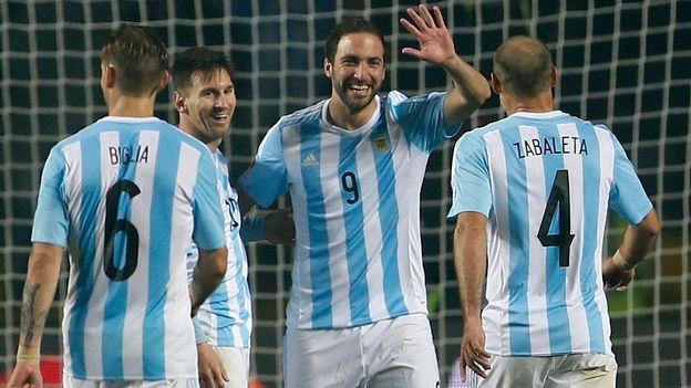 ARGENTINA A LA FINAL DE LA COPA AMERICA 2015