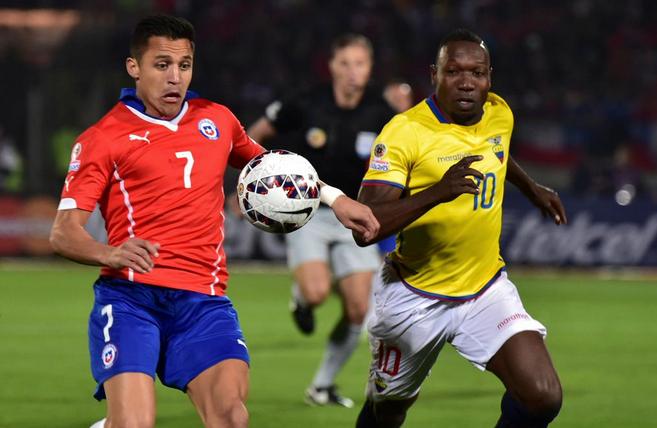 CHILE 2 ECUADOR 0