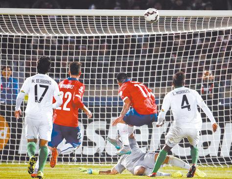 CHILE 5 BOLIVIA 0 COPA AMERICA 2015