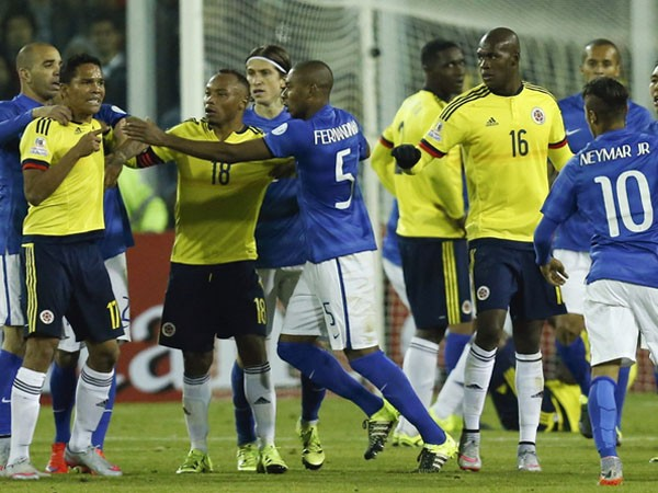 COLOMBIA 1 BRASIL 0 COPA AMERICA 2015