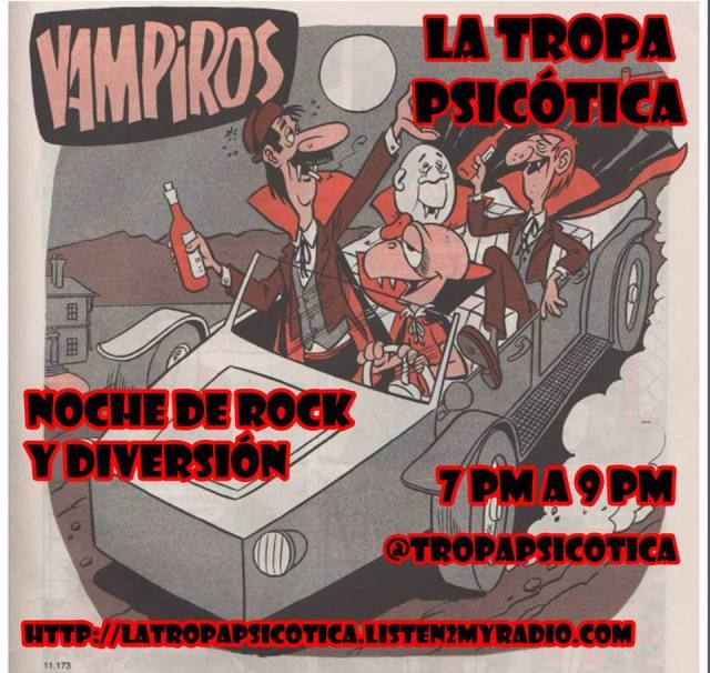 LA TROPA PSICOTICA PROGRAMA DE ROCK