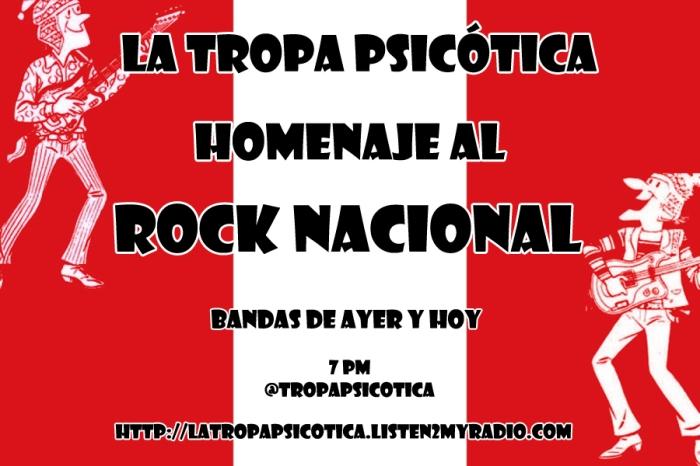 LA TROPA PSICOTICA ROCK E HISTORIA PERUANA