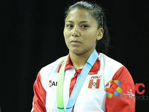 THALIA MALLQUI MEDALLA DE PLATA 2015
