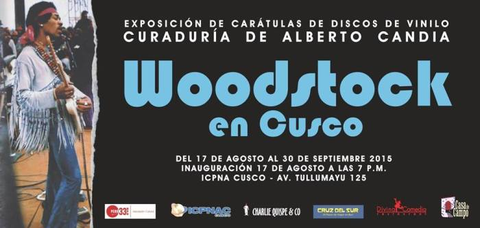 WOODSTOCK EN CUSCO ALBERTO CANDIA