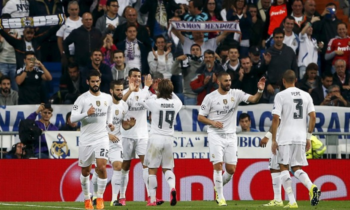 REAL MADRID 4 - SHAKHTAR DONESTK 0