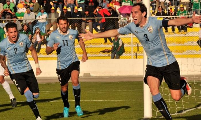 BOLIVIA 0 - URUGUAY 2 ELIMINATORIAS 2018