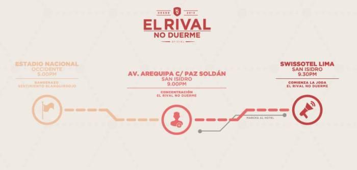 EL RIVAL NO DUERME PERU chile