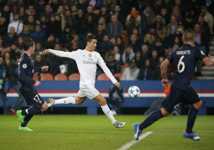 PSG 0 REAL MADRID 0