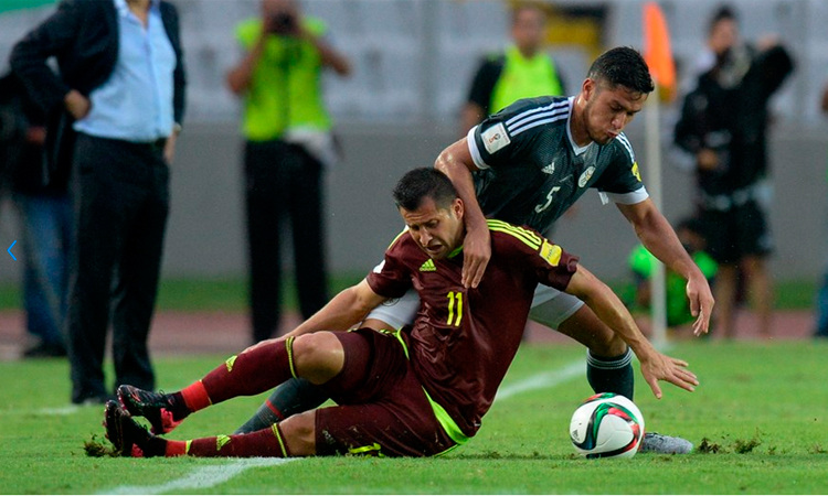 VENEZUELA 0 PARAGUAY 1 ELIMINATORIAS 2018