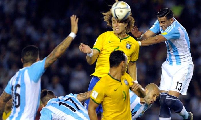 ARGENTINA 1 - BRASIL 1 ELIMINATORIAS RUSIA 2018