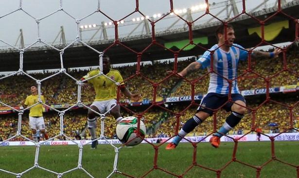 COLOMBIA 0 - ARGENTINA 1 ELIMINATORIAS 2018