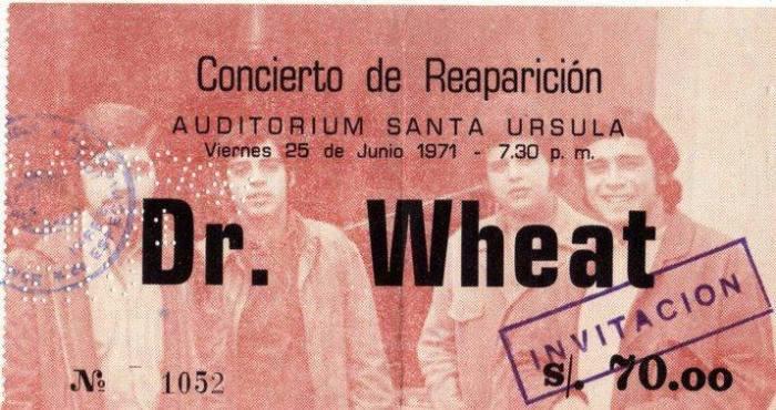 DR WHEAT ROCK PERUANO