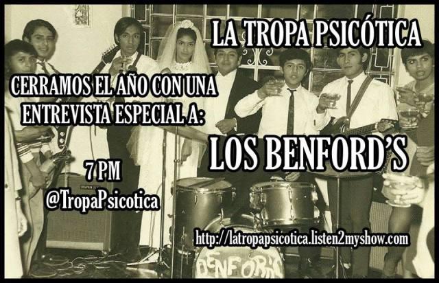 LOS BENFORDS LA TROPA PSICOTICA ROCK PERUANO