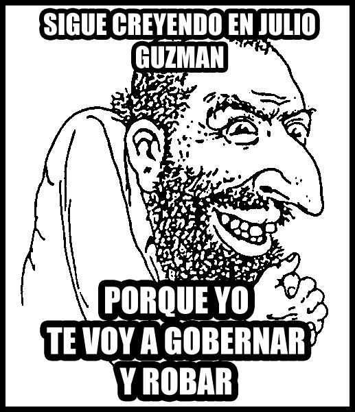JULIO GUZMAN TODOS POR EL PERU