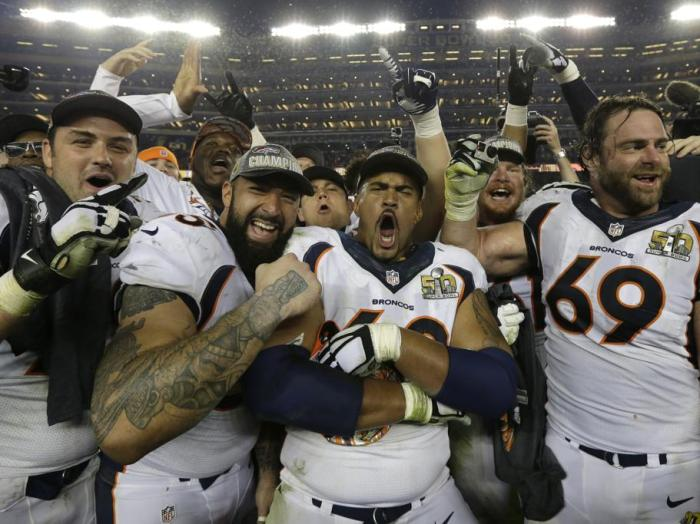 SUPER BOWL 50 DENVER BRONCOS