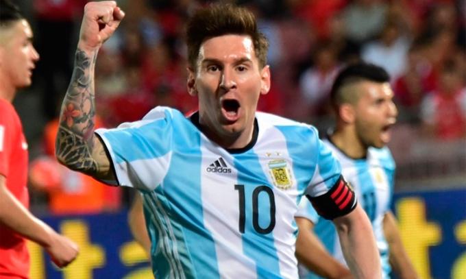 ARGENTINA 2 CHILE 1 2016