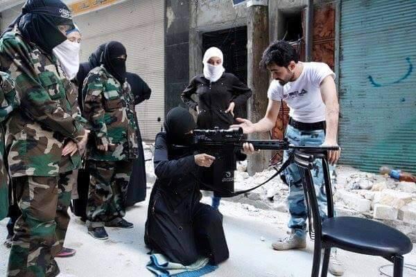 TERRORISTA AL NUSRA 2016
