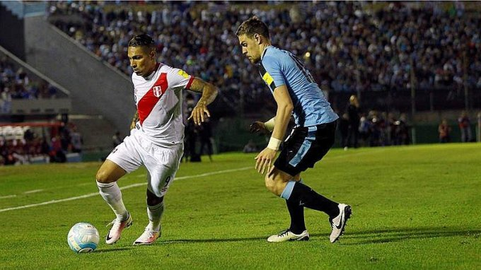 URUGUAY 1 PERU 0 2016