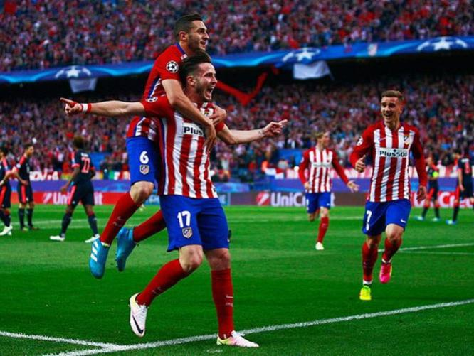 ATLETICO DE MADRID 1 BAYERN MUNICH 0 2016