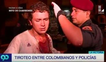 COLOMBIANO GOLPEADO 2