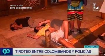 COLOMBIANOS DE MIERDA