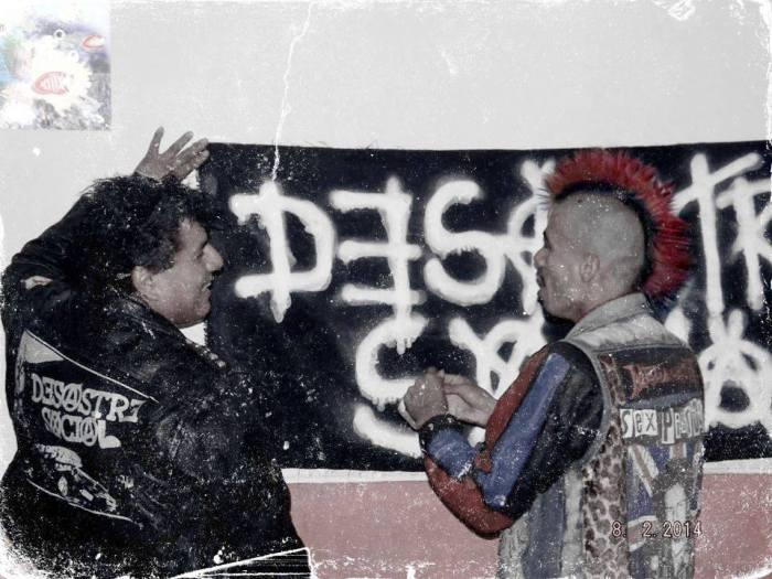 DESASTRE SOCIAL HARDCORE PERUANO