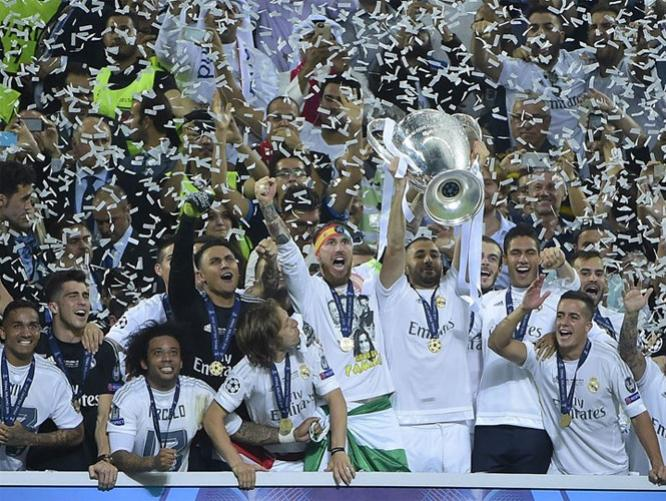 REAL MADRID CAMPEON CHAMPIONS LEAGUE