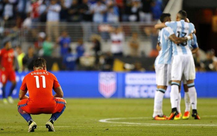 argentina 2 chile 1 2016 copa america